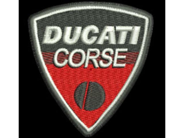 Ducati Corse Bike Logos A E Promenade Shirts And Embroidery